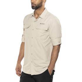 Columbia Silver Ridge II Camiseta de manga larga Hombre, fossil